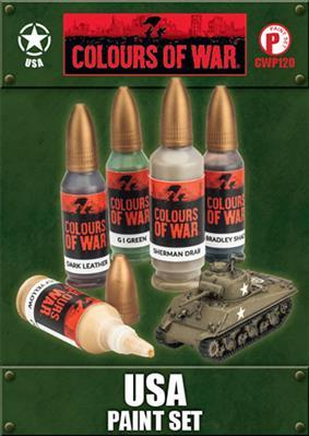 Colours Of War: USA Paint Set
