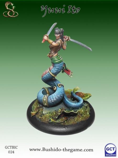 Bushido Miniatures: (Ito Clan) Yui