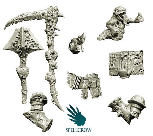 28mm Sci Fi - Plague Legions: Plague Lord Conversion Set