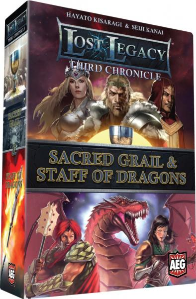(Third Chronicle) Sacred Grail & Staff Of Dragons