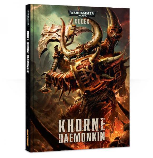 Warhammer 40K - Khorne: Daemonkin Codex