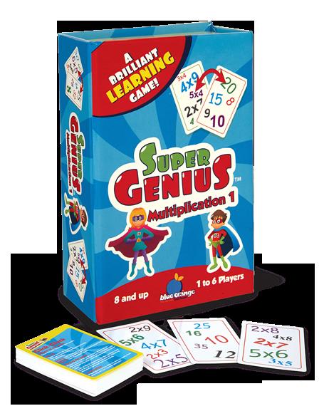 Super Genius Multiplication 1