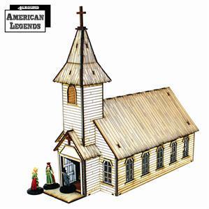 28mm Dead Mans Hand: Rev. Johnson's Church
