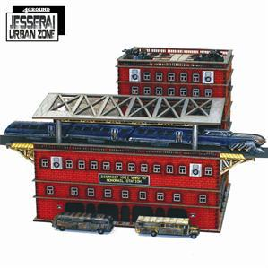 10mm Standard Terrain: District XXII Monorail Station