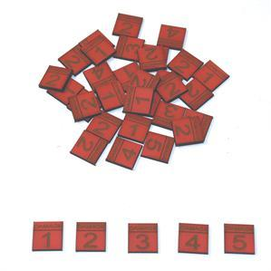 Game Tokens: 4Ground Wound Marker Set