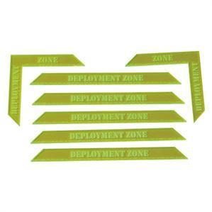 Game Tokens: 4Ground Deployment Zone Markers Set (Green)