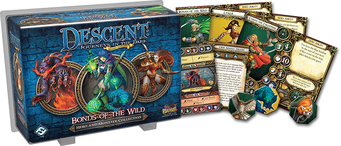 Descent: Bonds of the Wild Hero & Monster Collection