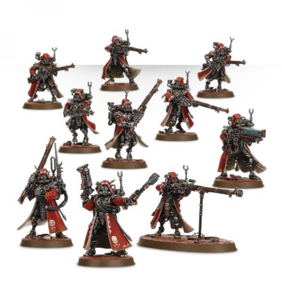 Shadow War: Adeptus Mechanicus Skitarii Rangers [KILL TEAM]
