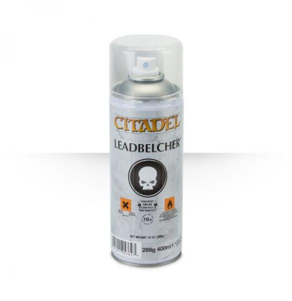 Citadel Spray Primer: Leadbelcher