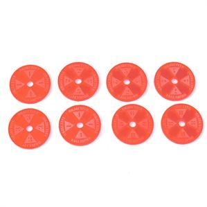Game Tokens: 4Ground Objective Marker Set (Red)