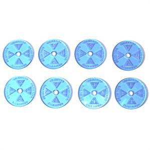 Game Tokens: 4Ground Objective Marker Set (Blue)