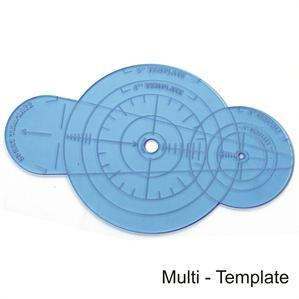 Game Tokens: 4Ground Multi-Template (Blue)