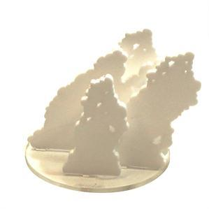 Game Tokens: 4Ground 4'' Diameter Smoke Markers (White)