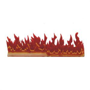 Game Tokens: 4Ground 6'' Linear Fire Wall