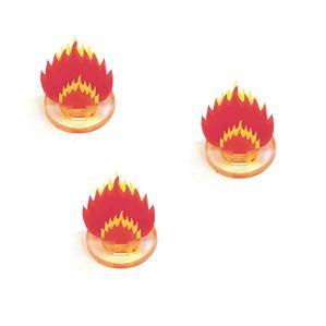 Game Tokens: 4Ground 3x 1'' Fireball Markers