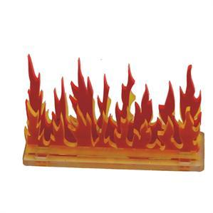 Game Tokens: 4Ground 3'' Linear Fire Wall Marker (A)