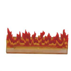 Game Tokens: 4Ground 3'' Linear Fire Wall Marker (B)