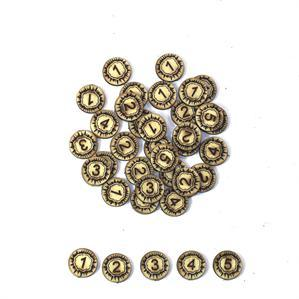 Game Tokens: 4Ground Explosion Damage Marker Set