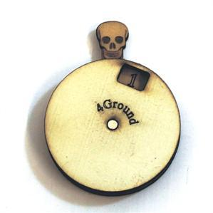 Game Tokens: 4Ground Skull Dial Turner