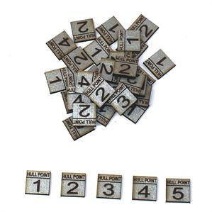 Game Tokens: 4Ground Hull Point Marker Set