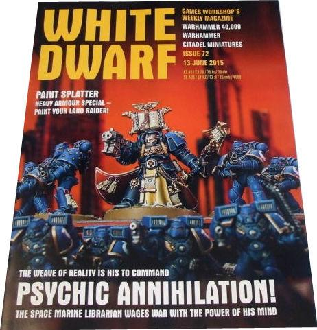 White Dwarf Weekly Issue 72