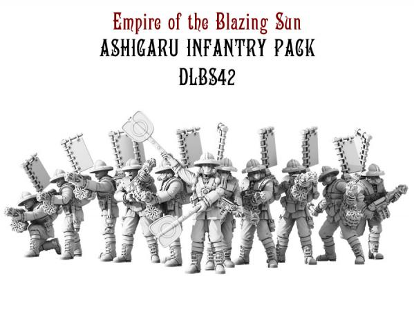 (Empire Of The Blazing Sun) Ashigaru Infantry Set