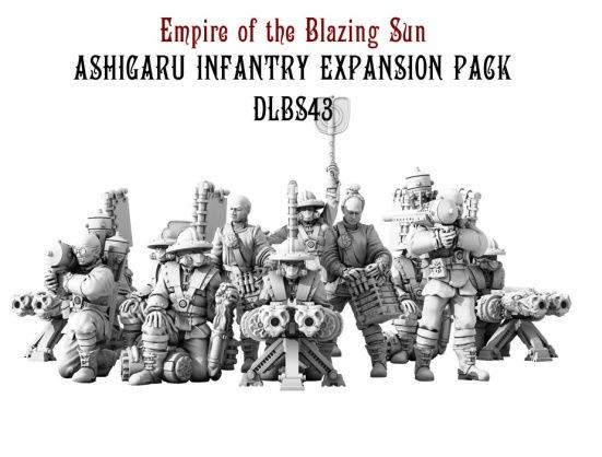 (Empire Of The Blazing Sun) Ashigaru Infantry Expansion Set