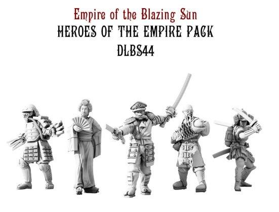 (Empire Of The Blazing Sun) Heroes Of The Empire Set