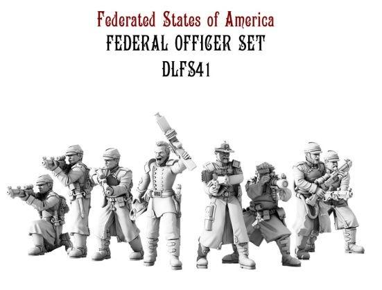 (Federated States Of America) Infantry Officer Set