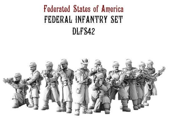 (Federated States Of America) Federal Infantry Set