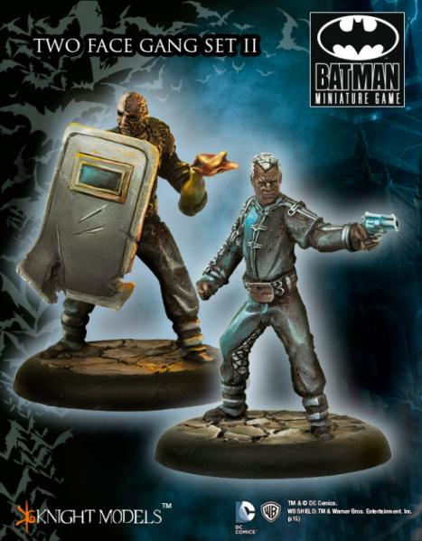 Batman Miniature Game: Two Face's Gang Set 2