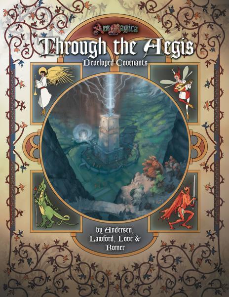 Through The Aegis (HC)
