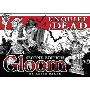 Gloom Card Game: Unquiet Dead 2nd Edition (Expansion)