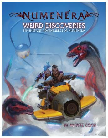 Numenera RPG: Weird Discoveries