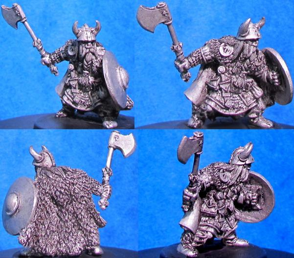 Hasslefree Miniatures: Thorri Jarlsson, Norse Dwarf, Brother of Falgrim