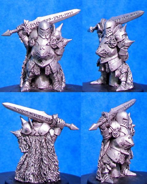 Hasslefree Miniatures: Yevrah Natows, Ogresbane, Chaotic Dwarf leader