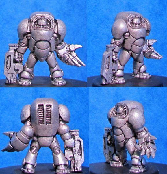 Hasslefree Miniatures: Powered Armour Kieran