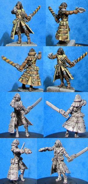 Hasslefree Miniatures: Justice Sedante, Sci-Fi Witch Hunter