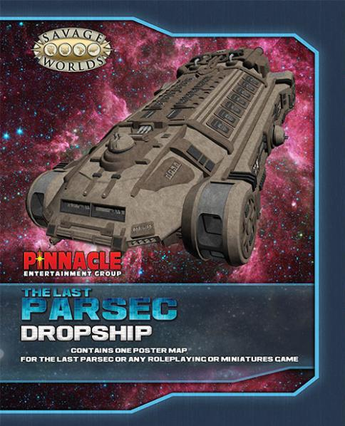 The Last Parsec Map Set: Dropship/Freighter