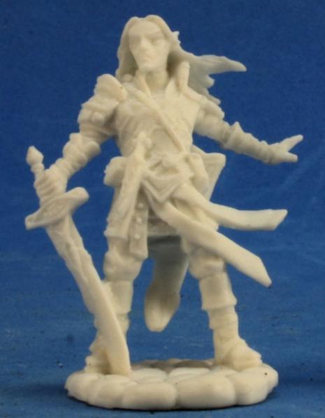 Pathfinder Bones: Arael, Half Elf Cleric