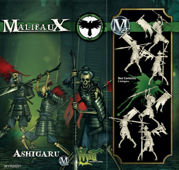 Malifaux: (The Resurrectionists) Ashigaru (3 Pack)