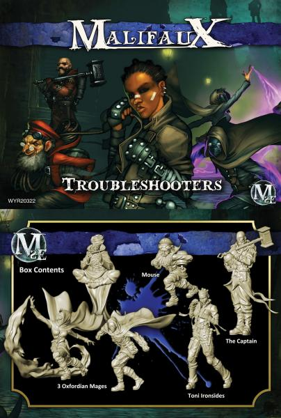 (The Arcanists) Troubleshooters (Ironside Crew)