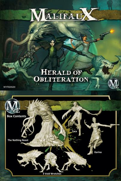 (The Outcasts) Herald Of Obliteration (Tara Crew)