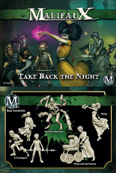 Malifaux: (The Resurrectionists) Take Back The Night (Molly Crew)