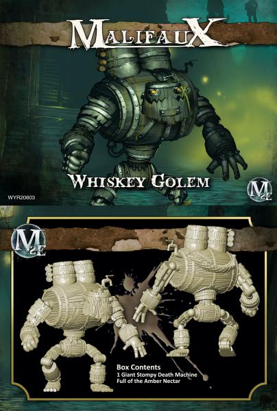 (The Gremlins) Whiskey Golem