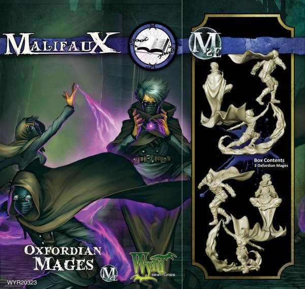 (The Arcanists) Oxfordian Mages (3 Pack)