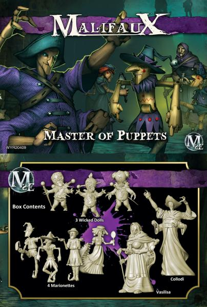 (The Neverborn) Master Of Puppets (Collodi Crew)