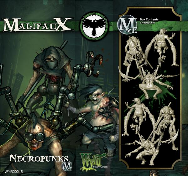 Malifaux: (The Resurrectionists) Necropunks (3 Pack)