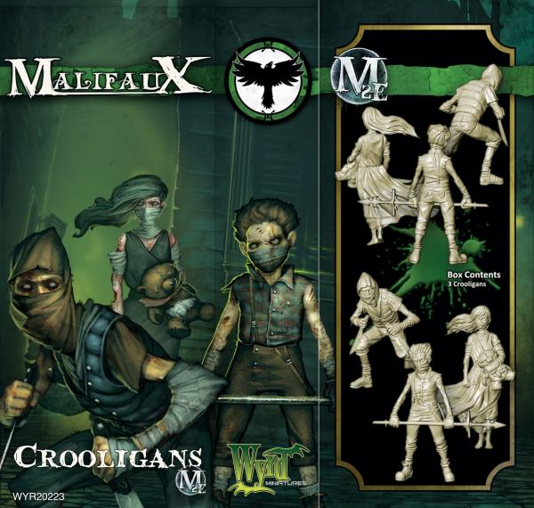 Malifaux: (The Resurrectionists) Crooligans (3 Pack)