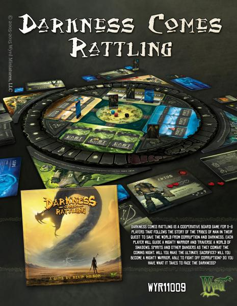 Darkness Comes Rattling (Boardgame)